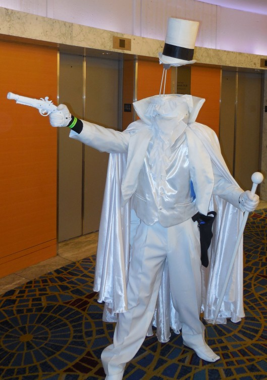The supervillain GENTLEMAN GHOST This was one of the coolest costumes I have ever seen.