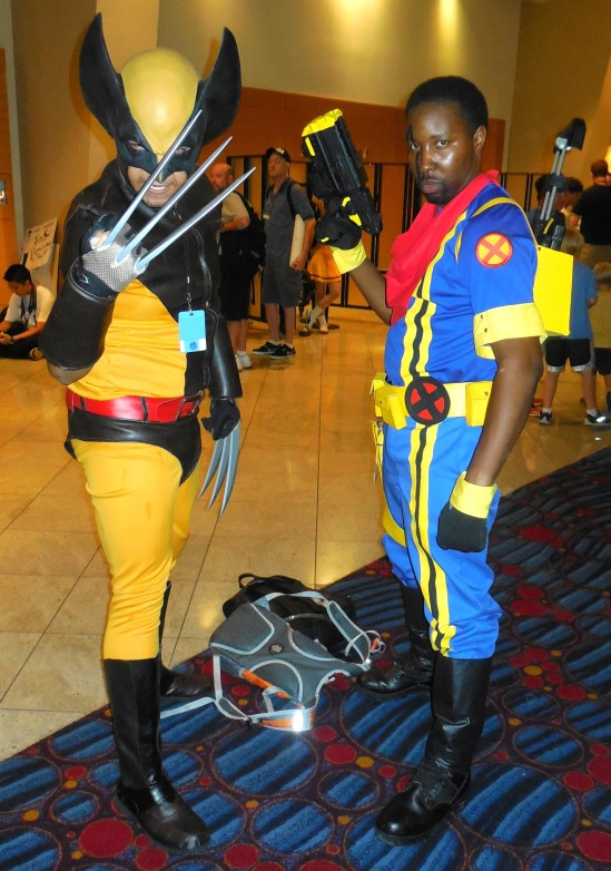 WOLVERINE and BISHOP