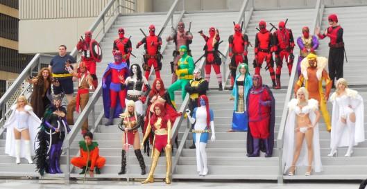MARVEL X-MEN photo op