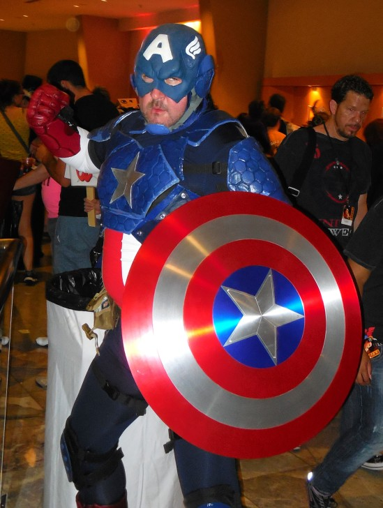 Old School Captain America