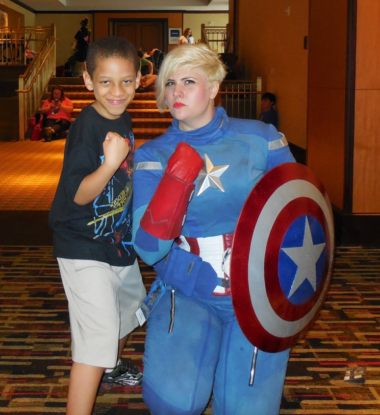 Lady Captain America!