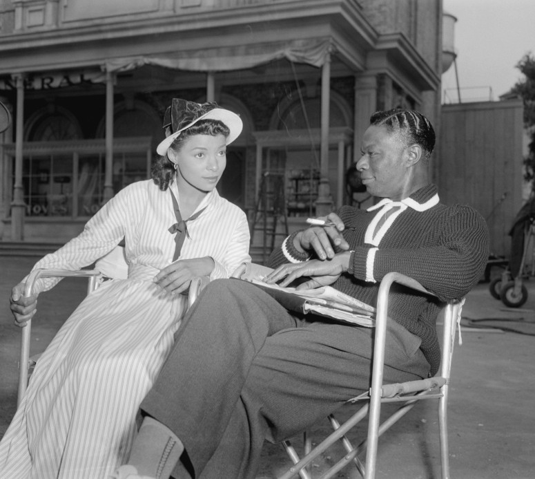 Ruby Dee Nat King Cole